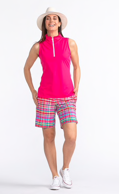 Kinona Keep It Covered Sleeveless Golf Top (Multiple Colors) - Gals on and off the Green