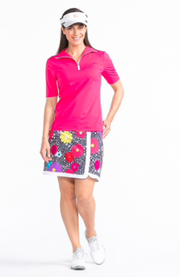 Kinona Keep It Covered Shortsleeve Golf Top