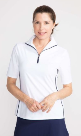 Kinona Core Basic Keep It Covered Short Sleeve Layering Top (Multiple Colors)