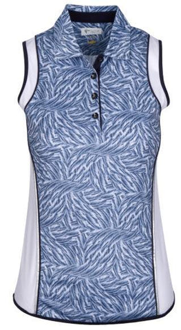 Greg Norman Ariel Sleeveless Polo
