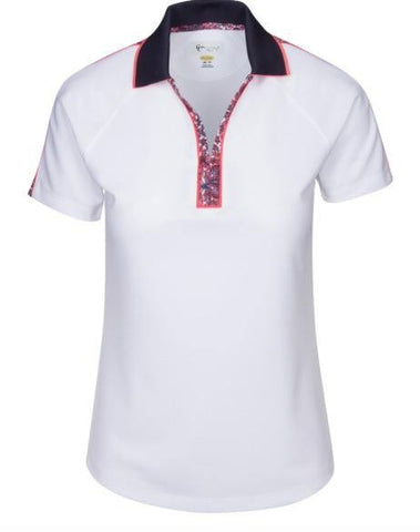Greg Norman Durham Zip Polo