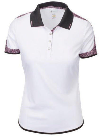 Greg Norman Emma Short Sleeve Polo