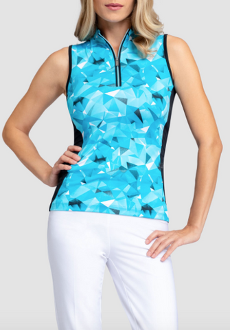 Tail Into Blues Aspen Sleeveless Polo