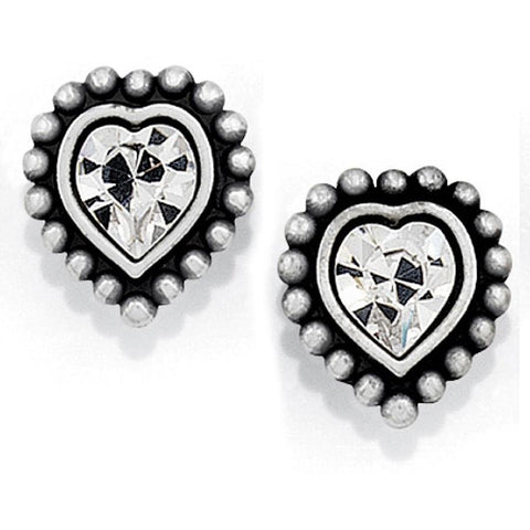 Brighton | Shimmer Heart Mini Post Earrings