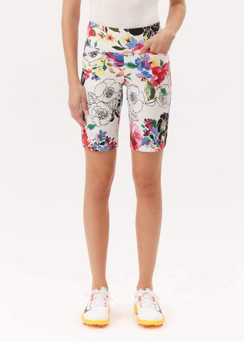 Swing Control Floral Masters Short - Gals on and off the Green