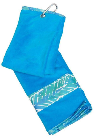 GloveIt 2021 Mystic Sea Towel - Gals on and off the Green