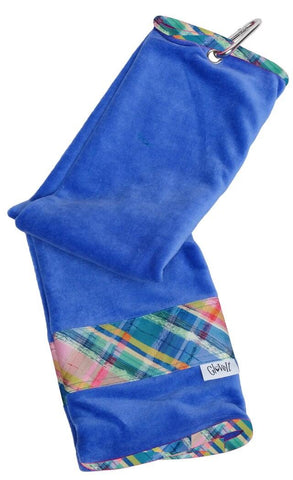 GloveIt 2021 Plaid Sorbet Golf Towel