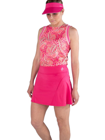 JoFit Pink Lady Paneled Skort (Short)