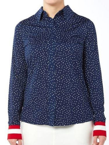 Belyn Key Oxford Keystone Long Sleeve