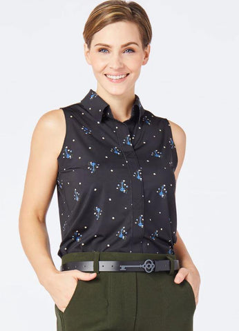 Belyn Key Biltmore Print Keystone Sleeveless
