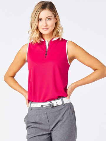 Belyn Key Thornewood Zip Polo Sleeveless