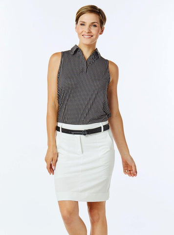 Belyn Key Breckenridge Cutaway Sleeveless - Gals on and off the Green