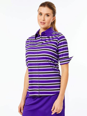 Belyn Key Breckenridge Keystone Half Sleeve Polo