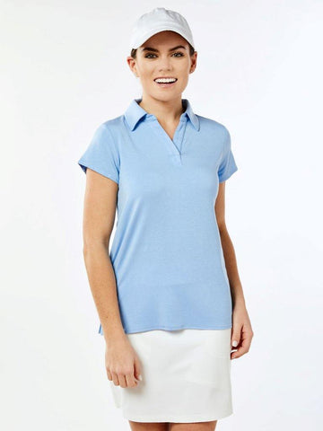 Belyn Key Carlisle Cap Sleeve Polo