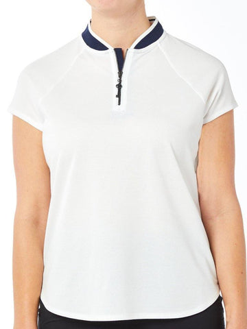 Belyn Key Zip Polo