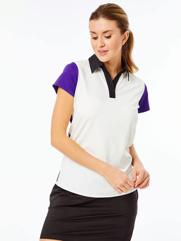 Belyn Key Breckenridge Cap Sleeve Polo
