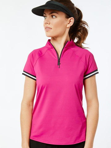 Belyn Key Thornewood Sport Short Sleeve Polo