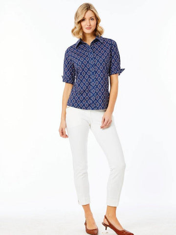 Belyn Key Seville Keystone Half Sleeve Polo