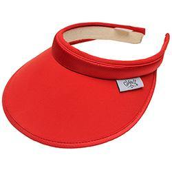 GloveIt Red Visor
