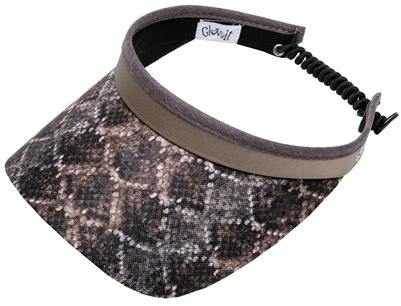 GloveIt Diamondback Coil Visor - Gals on and off the Green