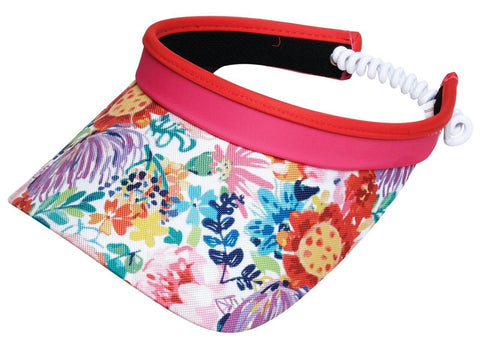 GloveIt 2021 Hawaiian Tropic Coil Visor - Gals on and off the Green