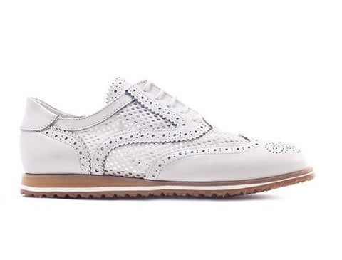 Walter Genuin Brogue Net Golf Shoe