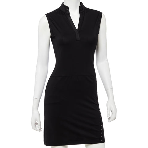 EP Pro Parallels Black Dress - Gals on and off the Green