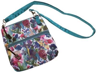 GloveIt 2020 Painted Meadow 2 Zip Carry All Bag