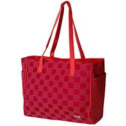 GloveIt Lady in Red Tote Bag