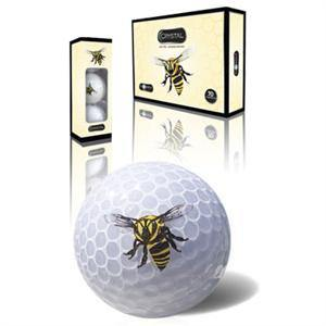 Stinger Bee Crystal Golf Balls