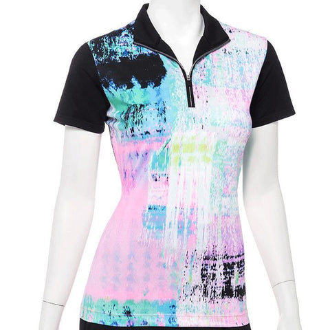 EP Pro True Colors Patchwork Polo - Gals on and off the Green