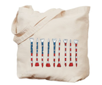 Bloom Designs America Golf Tees Jumbo Tote