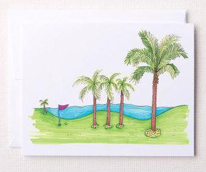Bloom Designs Note Cards Resort Print