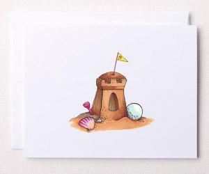 Bloom Designs Note Cards Sand Trap Print