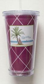 Bloom Designs Island Golfing Tumbler