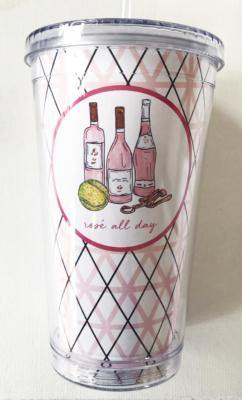 Bloom Designs Tennis All Day Tumbler