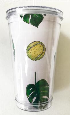 Bloom Designs Tennis Palm Tumbler