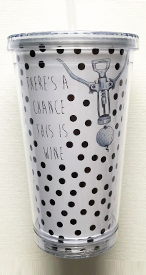 Bloom Designs There's a Chance Tumbler