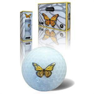 Butterfly Crystal Golf Balls