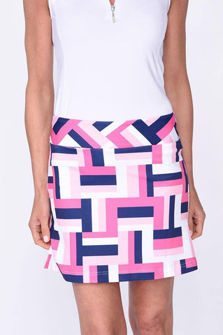 Golftini All Square Pull-On Tech Skort