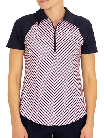 JoFit Sherry Center Seam Polo