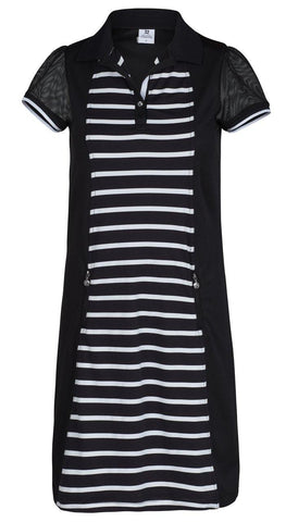 Daily Sports Black Coral Connie Short Sleeve Dress