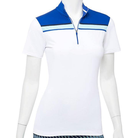 EP Pro Out of the Blue Contrast Blocking Polo