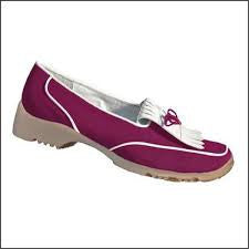 Walter Genuin Ella Golf Shoe in Fuchsia