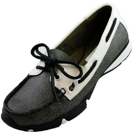 Greenleaf (formerly Golfstream) Black Pearl Marina Golf Shoe