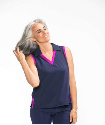 KINONA Easy Breezy Sleeveless Golf Top