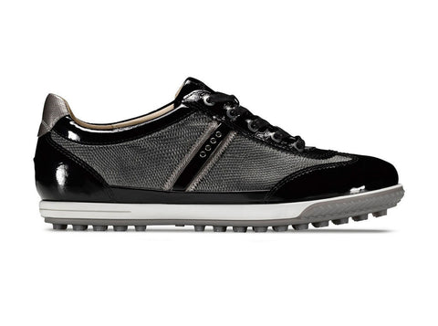 ECCO Womens Life Street Luxe Leather Golf Shoe