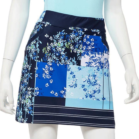 EP Pro Out of the Blue Ditzy Skort - Gals on and off the Green