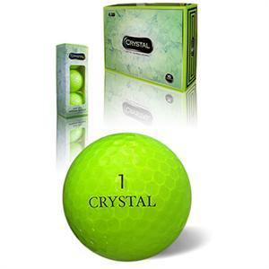 Flash Green Crystal Golf Balls