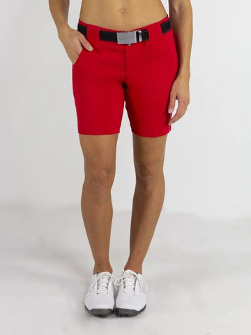 JoFit Prosecco Belted Golf Short